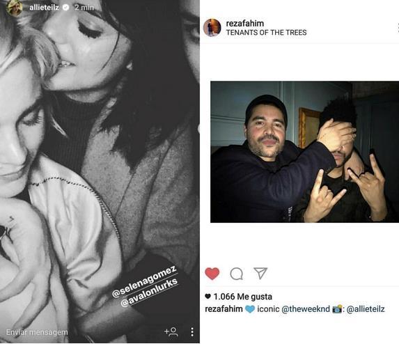 Le immagini che mostrano Selena Gomez e The Weeknd insieme