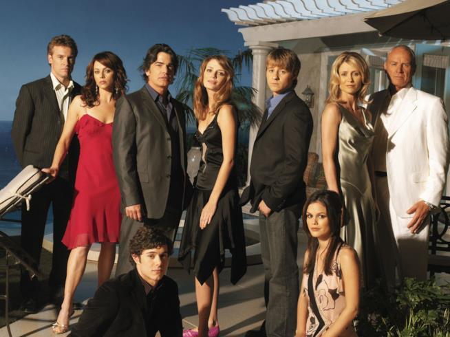 Il cast di The O.C. in una foto promozionale
