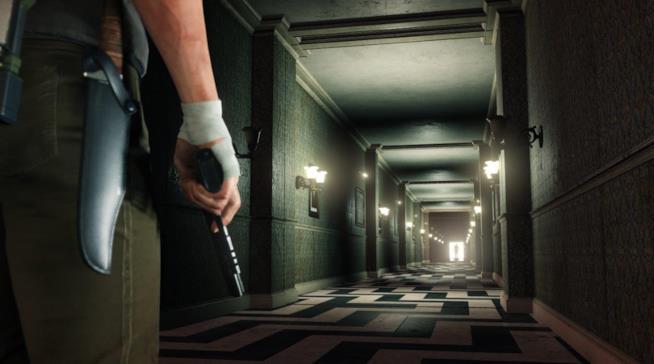 Una delle terrificanti ambientazioni di The Evil Within 2