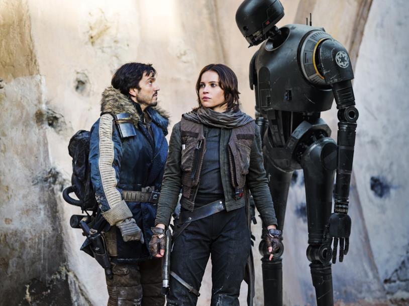 Una scena di Rogue One