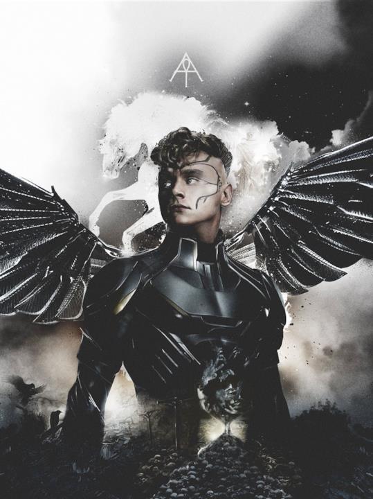 Arcangelo è uno dei Quattro Cavalieri di X-Men: Apocalisse
