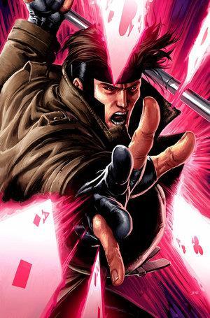 Un'altra illustrazione del personaggio di Gambit
