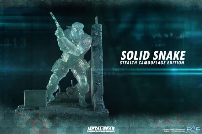 Una preziosa statuetta per Solid Snake di Metal Gear Solid