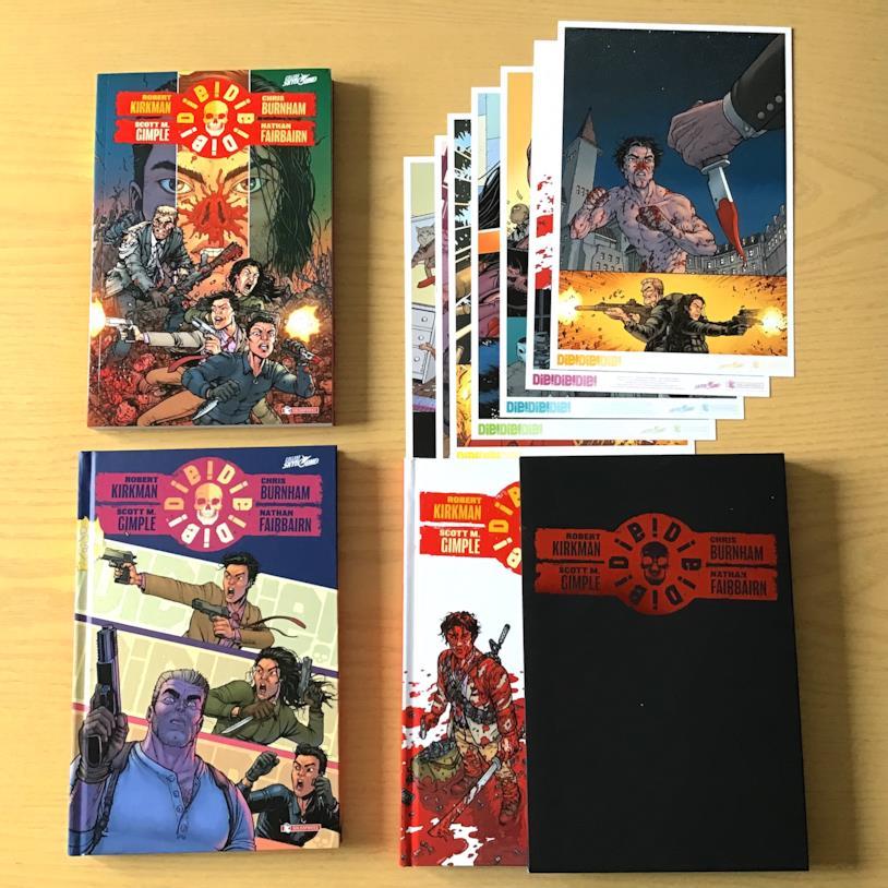 I volumi del nuovo fumetto di Robert Kirkman: DIE!DIE!DIE!