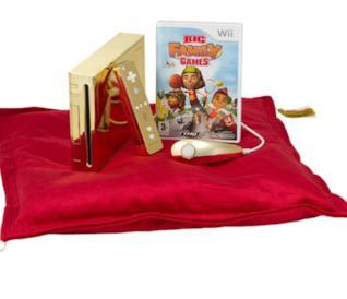La versione dorata di Nintendo Wii