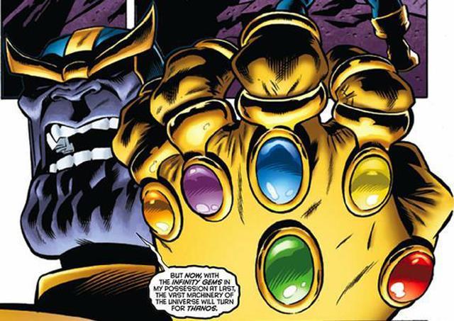 Un'immagine di Thanos in Il Guanto dell'Infinito