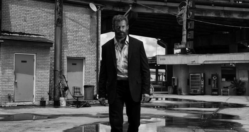 Un'immagine dal set di Logan