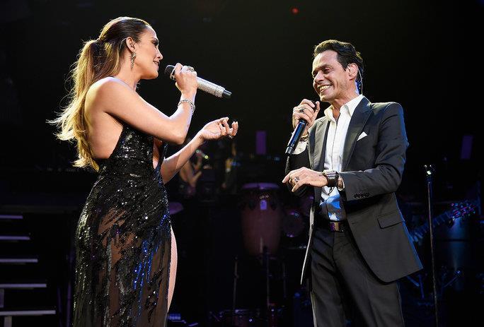 Ritorno di fiamma sul palco per Jennifer Lopez e Marc Anthony