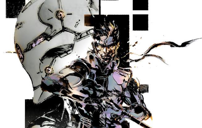 Un concept art di Metal Gear Solid firmato da Yoji Shinkawa