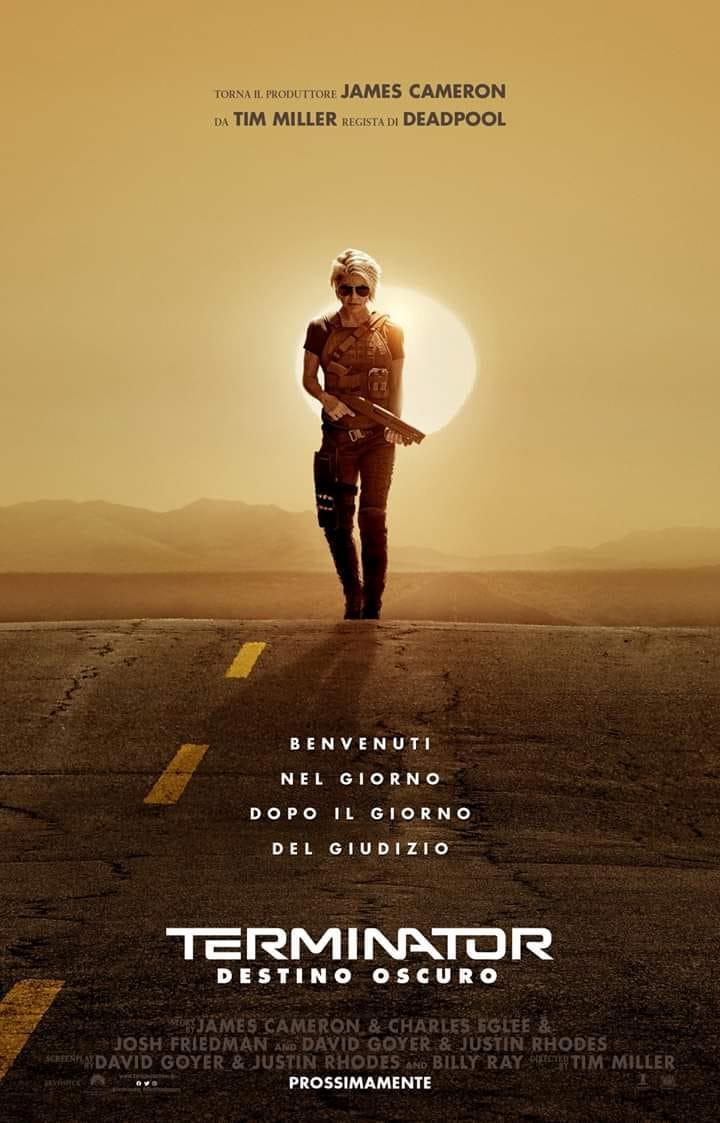 Il poster ufficiale di Terminator: Destino Oscuro