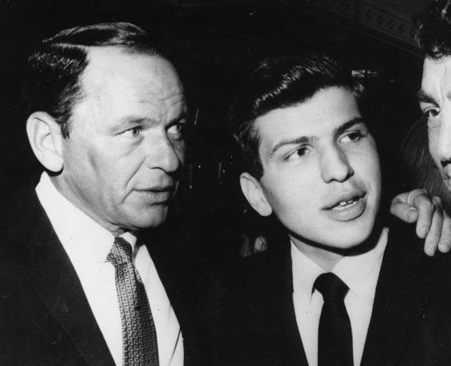 Frank Sinatra Sr. e il padre Frank Sinatra Jr.