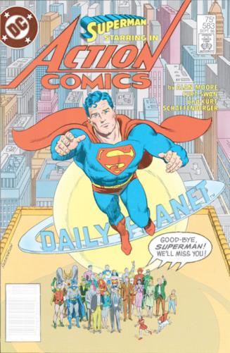 Copertina di Action Comics #583