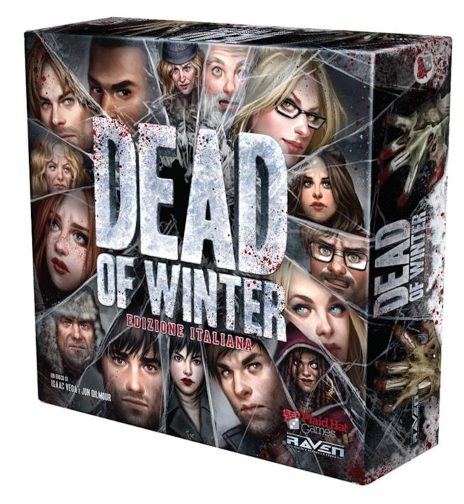 La confezione italiana del gioco da tavolo Dead of Winter