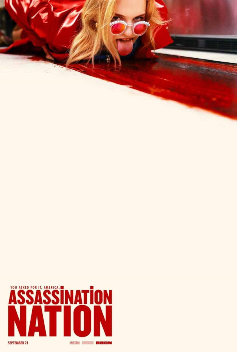 Il poster ufficiale di Assassination Nation