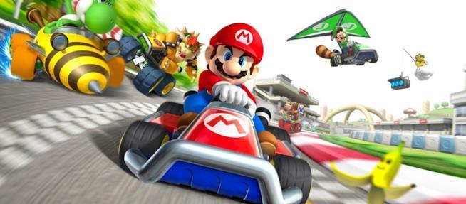 Mario Kart, uno dei giochi di punta Nintendo