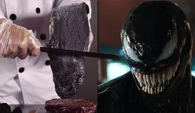 Venom e il formaggio nero, un gustoso omaggio al film con Tom Hardy