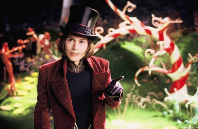 Willy Wonka ovvero Johnny Depp