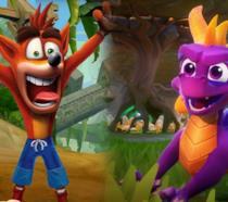 Crash e Spyro nelle loro Trilogy