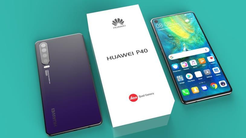 Concept di Huawei P40
