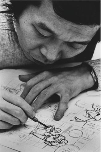 Il mangaka Kazuo Kamimura