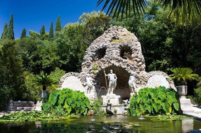 L'Arboreto di Trsteno è la location dei Giardini di Approdo del Re
