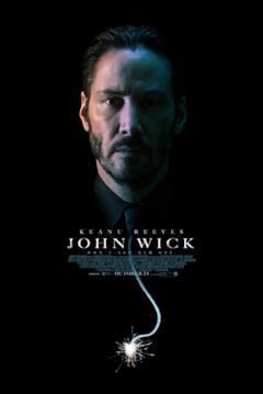 Una locandina del film John Wick