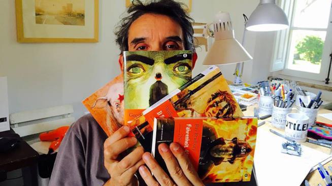 GIPI mostra gli Oscar Mondadori da lui illustrati