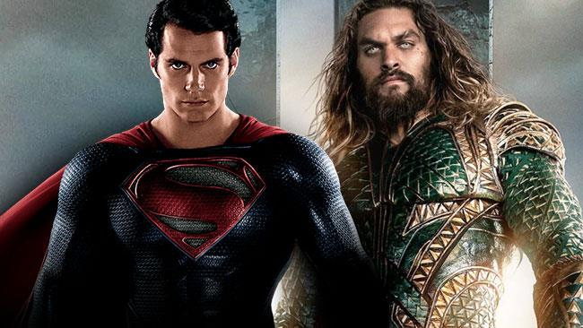 Henry Cavill è Superman e Jason Momoa è Aquaman