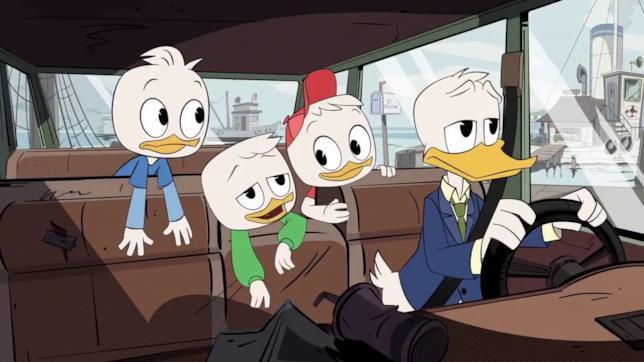 II tre nipoti in Ducktales