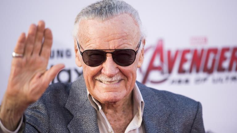 Il creatore degli eroi Marvel, Stan Lee