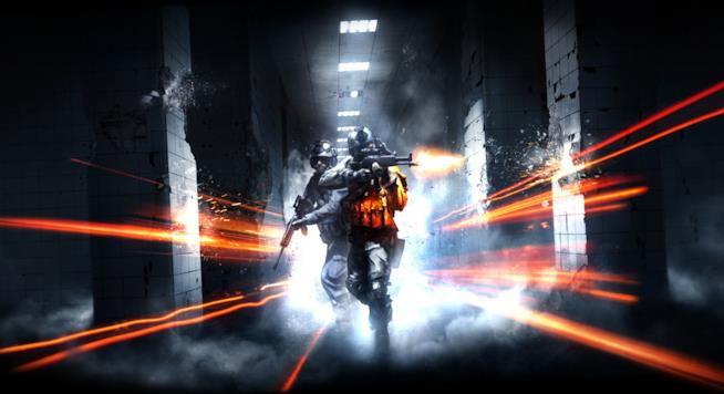 Truppe speciali in azione in un artwork di Battlefield 4