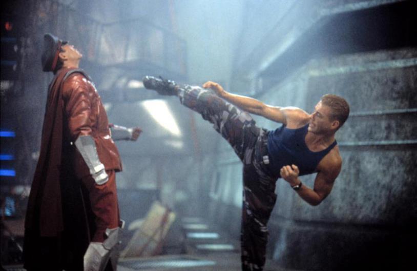 Van Damme nei panni del colonnello Guile in Street Fighter