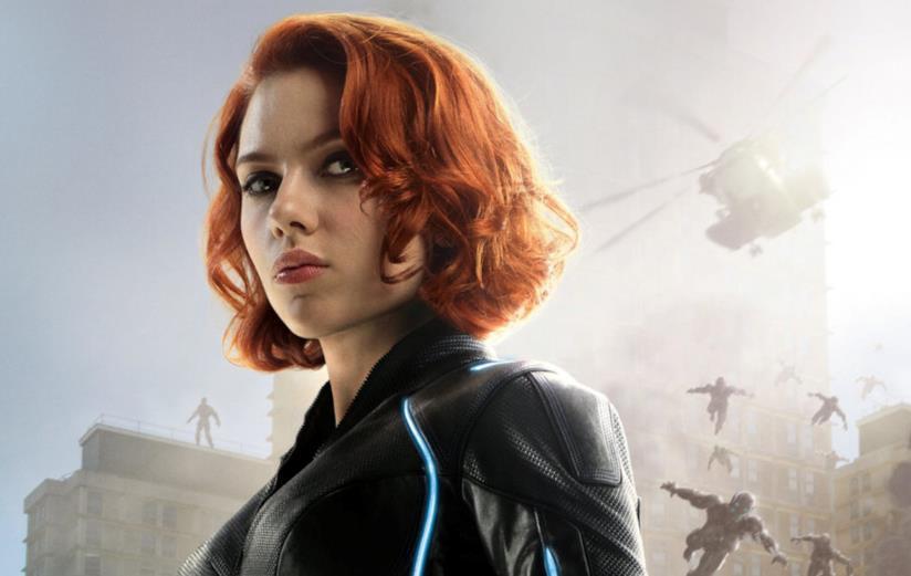 Una scena di Avengers con Black Window