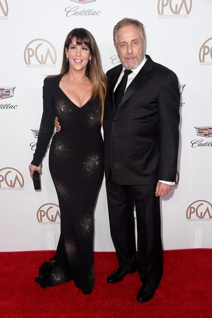 Patty Jenkins e Charles Roven sul red carpet