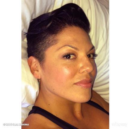 Il nuovo look di Sara Ramirez