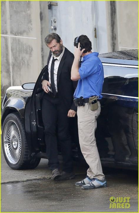 Hugh Jackman e un addetto ai lavori
