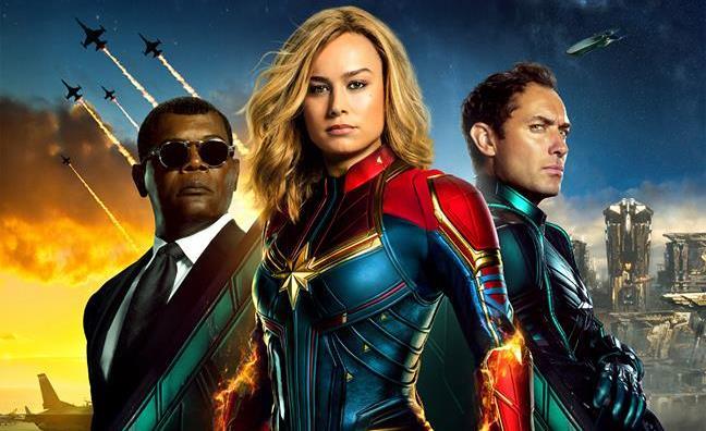 Carol Danvers Captain Marvel cover