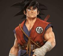 Il protagonista di Dragon Ball Son Goku realizzato interamente in 3D nel progetto DBZTribute