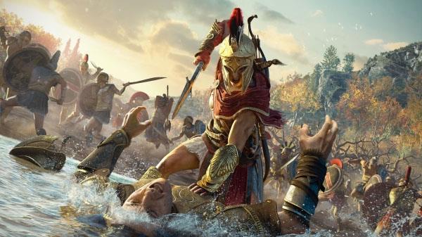 Una immagine del prossimo Assassin's Creed Odyssey
