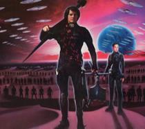 Un dettaglio del poster di Dune