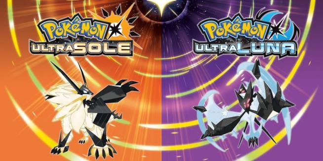 Le cover ufficiali di Pokémon Ultrasole e Ultraluna