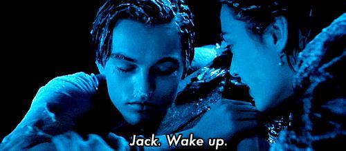 La scena della morte di Jack