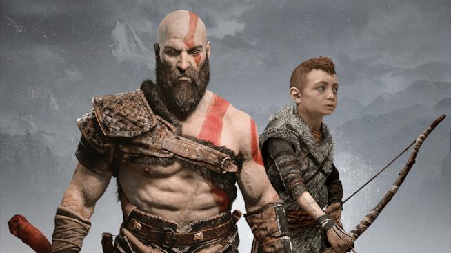 Kratos e Atreus nel nuovo God of War