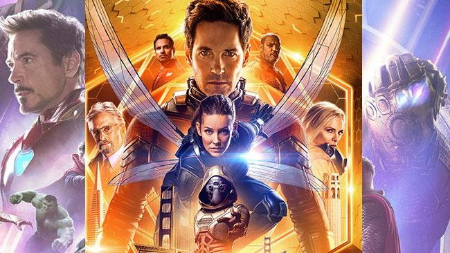 Ant-Man and the Wasp e Infinity War