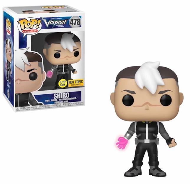 Shiro per la collezione Funko!Pop di Voltron
