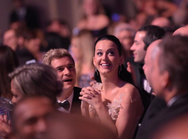 Katy Perry con Orlando Bloom