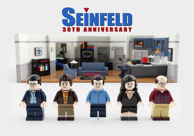 Il 30esimo anniversario di Seinfeld ricreato con LEGO Ideas