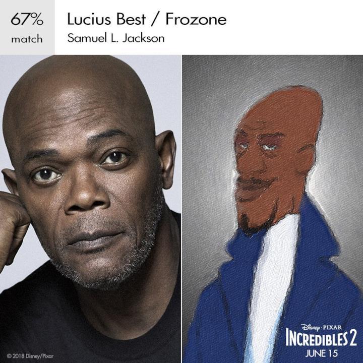 Samuel L. Jackson è ancora Lucius Best/Siberius