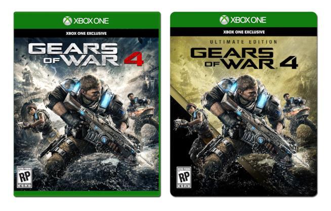Cover Gears of War 4