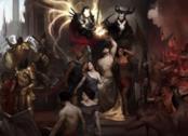Lilith in un artwork di Diablo 4